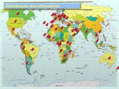 Candy CCS Distribuição dos utilizadores