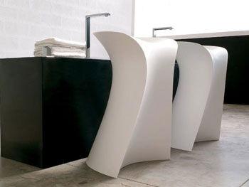Catálogo dos lavatórios