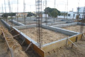 Ficha de rendimento – vigas de fundação em betão armado com 35x45cm
