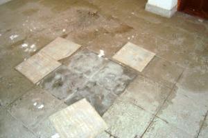 Demolição de azulejos interiores – Ficha de rendimento