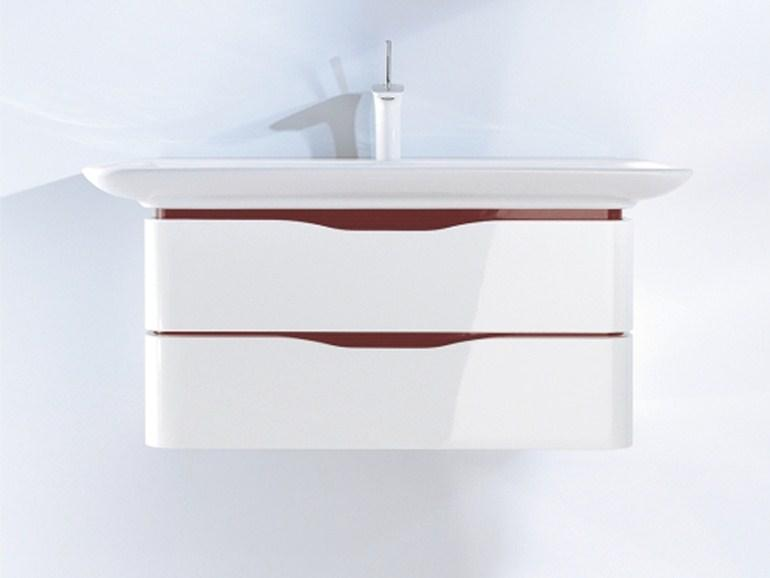Duravit - Móvel lavatório suspenso com gavetas PURAVIDA