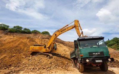 Remoção de terras a 30km em camião de 22m3 – Fichas de rendimento